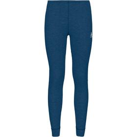 Odlo Active Warm Eco Pantalones Interiores Niños, estate blue